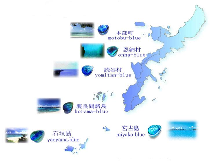 七海シリーズマップ